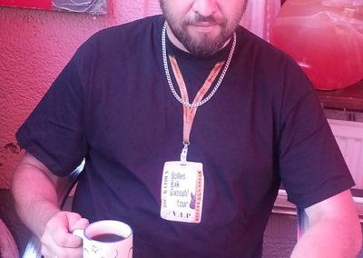 Backstage koffie